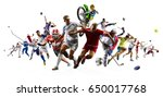huge multi sports collage...