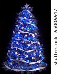 Christmas Tree With Light And...