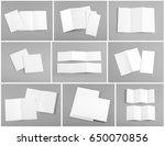 identity design  corporate... | Shutterstock . vector #650070856