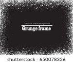 grunge frame. vector...   Shutterstock .eps vector #650078326
