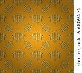 seamless pattern oriental... | Shutterstock .eps vector #650096575
