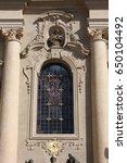 st. nicholas church. prague....   Shutterstock . vector #650104492