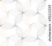 flower pattern vector  black... | Shutterstock .eps vector #650112235