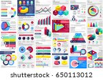 infographic elements data... | Shutterstock .eps vector #650113012