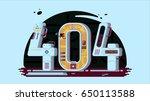 page not found error 404...   Shutterstock . vector #650113588