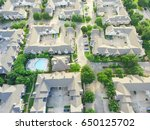 aerial view of typical multi... | Shutterstock . vector #650125702