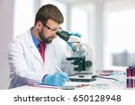 scientist. | Shutterstock . vector #650128948