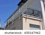 balcony rail of high grade... | Shutterstock . vector #650167462