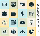 job icons set. collection of...   Shutterstock .eps vector #650171248
