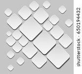 vector abstract illustration.... | Shutterstock .eps vector #650194432