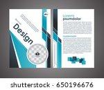 vector brochure modern design... | Shutterstock .eps vector #650196676