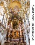 wies  germany jul 18 interior...   Shutterstock . vector #650210842