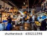 tsukiji tokyo  japan   nov 30... | Shutterstock . vector #650211598