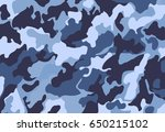 camouflage military background... | Shutterstock .eps vector #650215102