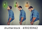 dieting before and after... | Shutterstock . vector #650230462