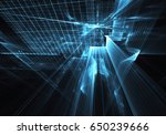 computer generated abstract...   Shutterstock . vector #650239666