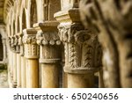 Cloister In An Old Spanish...