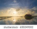 landscape thale noi waterfowl... | Shutterstock . vector #650249302