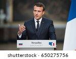 paris  france   may 29  2017  ... | Shutterstock . vector #650275756