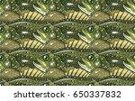 largemouth bass pattern | Shutterstock .eps vector #650337832
