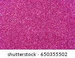 pink glitter texture christmas... | Shutterstock . vector #650355502