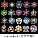 illustration set of jewelry... | Shutterstock .eps vector #650367988