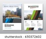 brochure cover design layout...   Shutterstock .eps vector #650372602