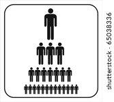 organizational corporate... | Shutterstock .eps vector #65038336