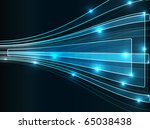 optical perspective background. ... | Shutterstock .eps vector #65038438