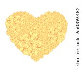 picture of the heart of... | Shutterstock .eps vector #650396482