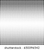 abstract halftone dotted... | Shutterstock .eps vector #650396542