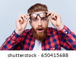 it's incredible  close up... | Shutterstock . vector #650415688