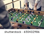 people playing enjoying... | Shutterstock . vector #650432986