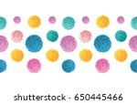 vector floating colorful... | Shutterstock .eps vector #650445466