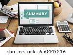 business strategy plan... | Shutterstock . vector #650449216