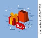 gift image flat   Shutterstock .eps vector #650467252