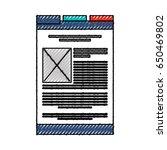 scribble web tab cartoon