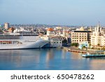 panoramic view of the  historic ... | Shutterstock . vector #650478262