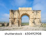 north side of the arch of...   Shutterstock . vector #650492908