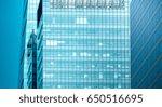 modern office building detail... | Shutterstock . vector #650516695