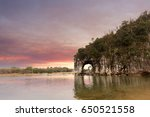 china guilin  the famous... | Shutterstock . vector #650521558