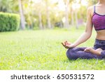 close up shots of a young woman ... | Shutterstock . vector #650531572