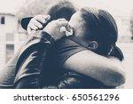sad goodbye | Shutterstock . vector #650561296