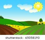 environmentally prosperous... | Shutterstock .eps vector #65058193