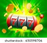 big win slots 777 banner casino.... | Shutterstock .eps vector #650598706