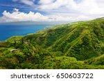 stunning landscape view seen... | Shutterstock . vector #650603722