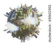 global view of business world.... | Shutterstock . vector #650622502