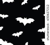 seamless texture pattern bat ... | Shutterstock .eps vector #650627212
