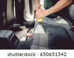 car detailing and car care... | Shutterstock . vector #650651542