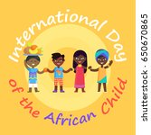 international day of african... | Shutterstock .eps vector #650670865